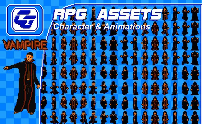 RPG Character 'Vampire' NES
