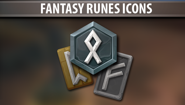 Fantasy Runes Icons