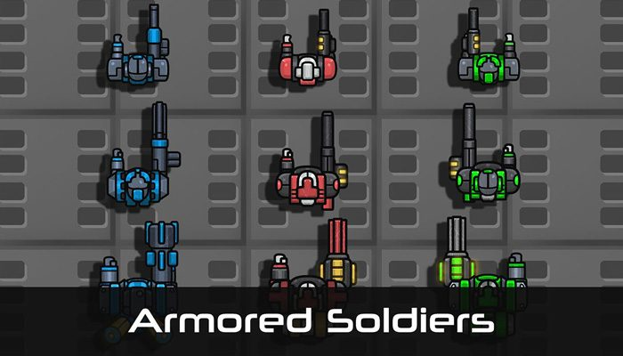 Armored Soldiers