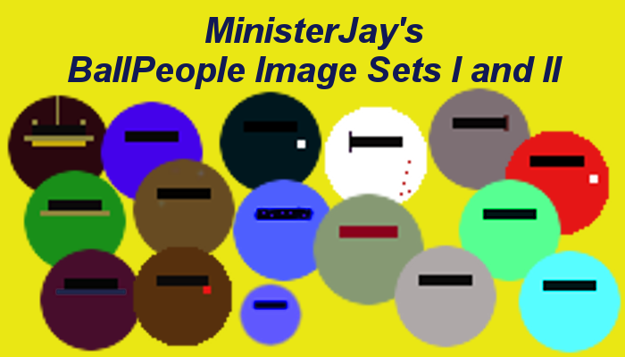 MinisterJay's BallPeople Image Sets I and II