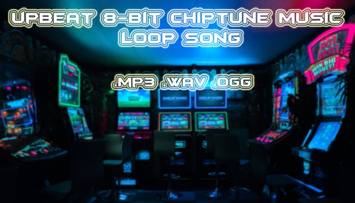 Upbeat 8 Bit Rock Chiptune Music Loop Song