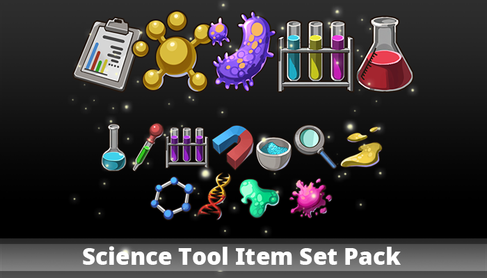 Science Tool Item Set Pack