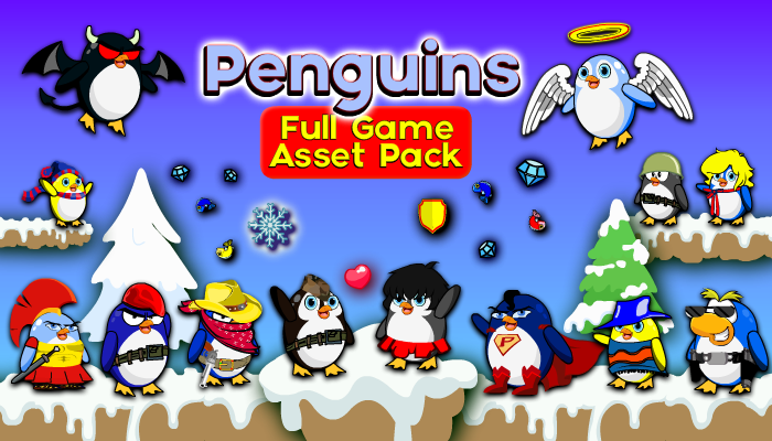 Penguins – Full Game Asset