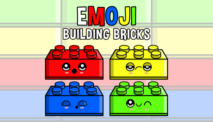 Emoji Emotion Faces Building Bricks