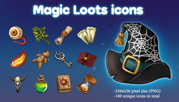 Magic Loots icons