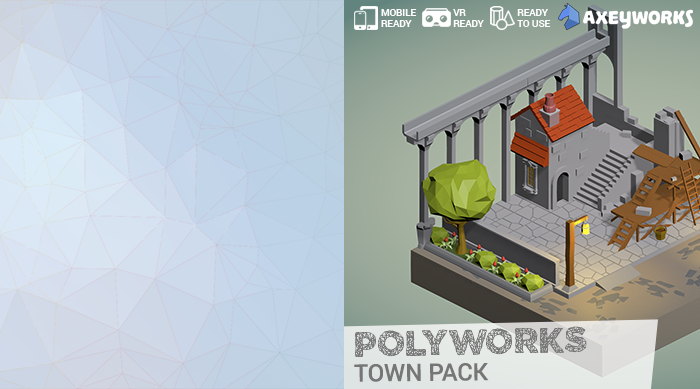 PolyWorks: Town Pack