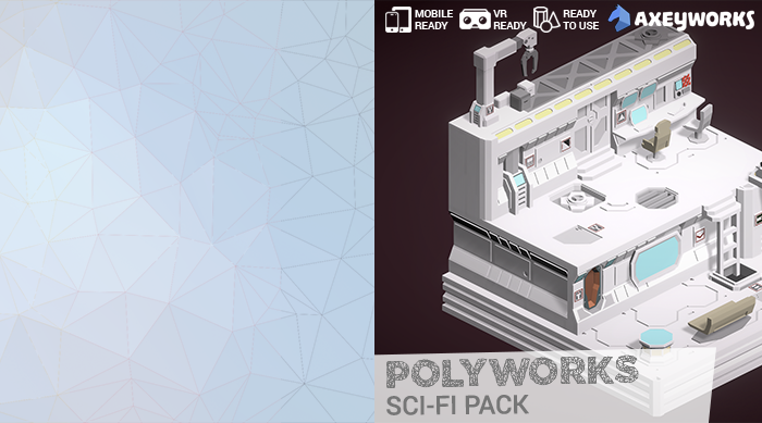 PolyWorks: Sci-Fi Pack