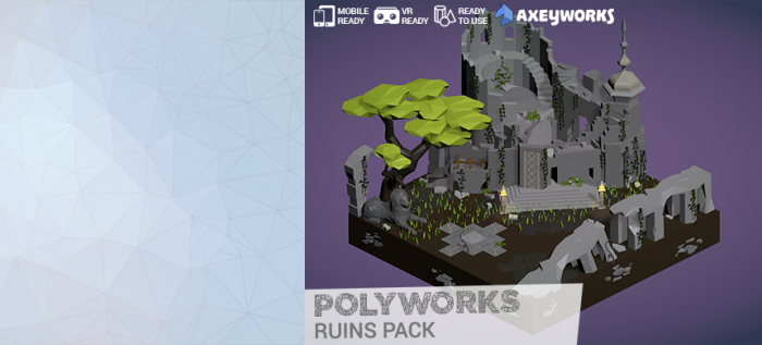 PolyWorks: Ruins Pack