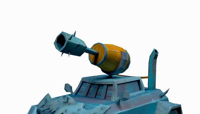 War Tank Lowpoly Low-poly 3D model