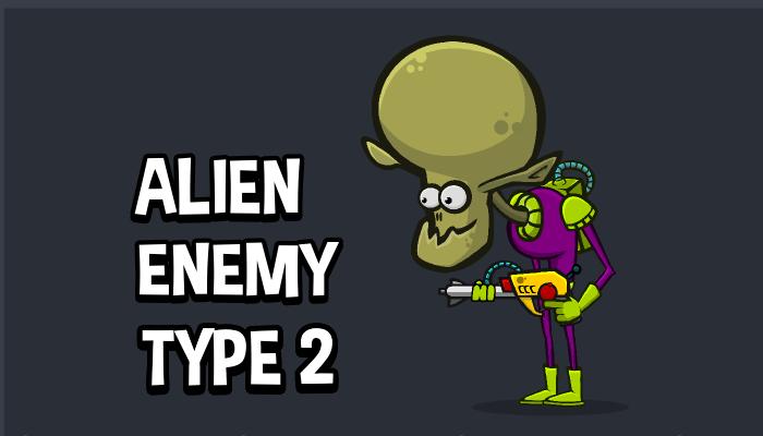 Alien enemy type 2