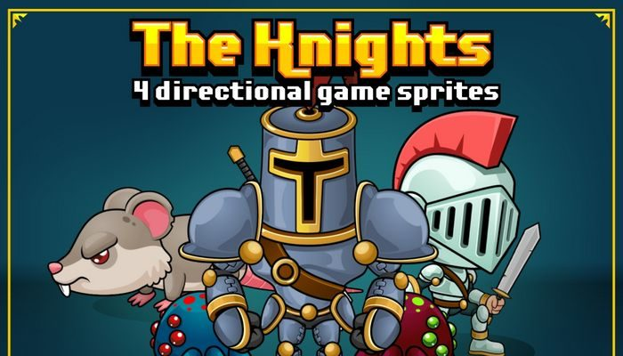 The Knight – Game Sprites