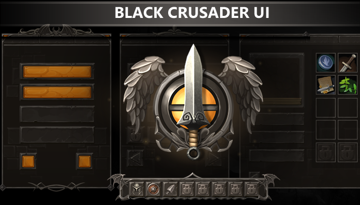 Black Crusader UI
