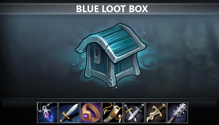 Blue Loot Box