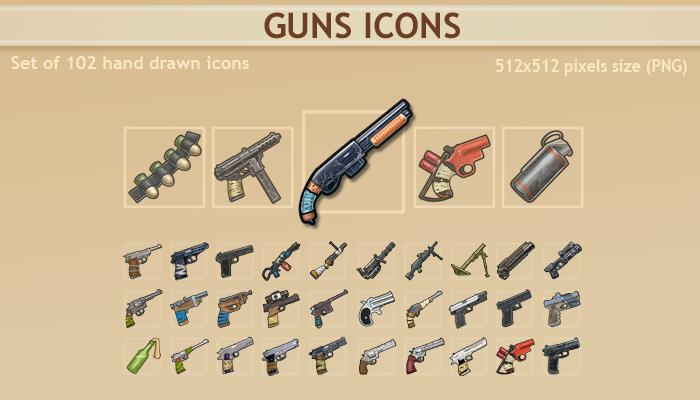 Guns Icons