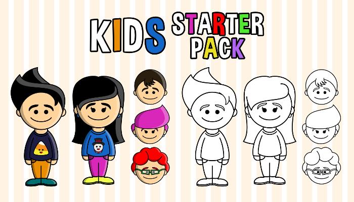 Kids – Starter Pack (PartyHead Kiddos)