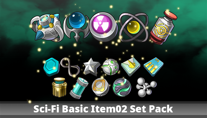 Sci-Fi Basic Item02 Set Pack