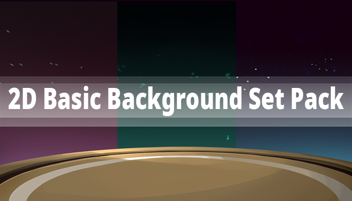 2D Basic Background Set Pack
