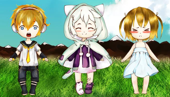 Customizable Anime Child Character