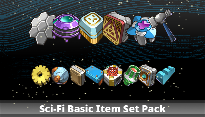 Sci-Fi Basic Item Set Pack