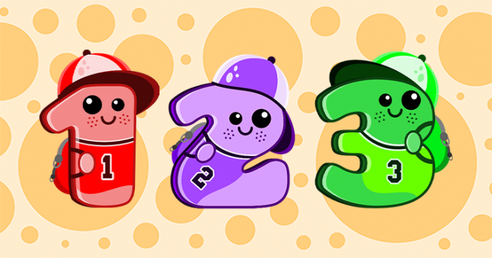 School Numbers 1-20 for Kids Games