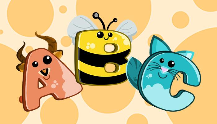 Friendly Animals Alphabet for Kids Games