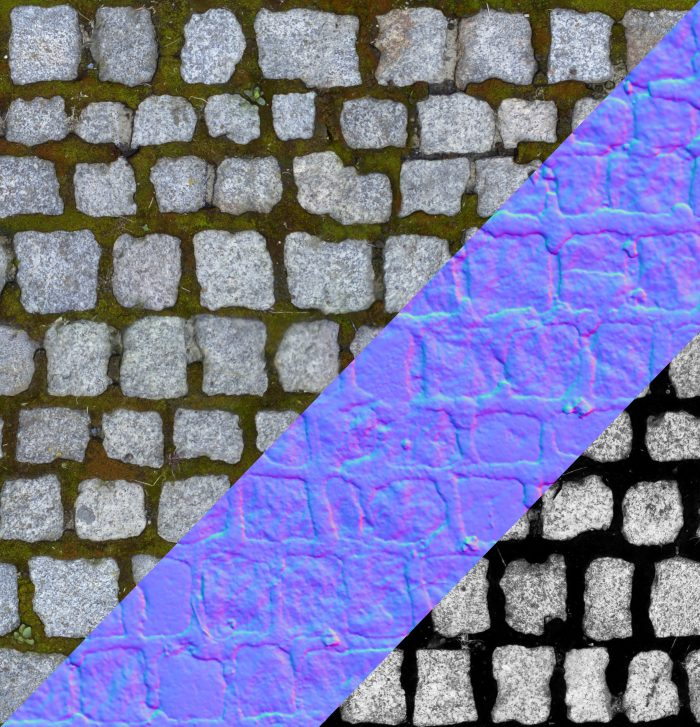 Cobble stone texture 03