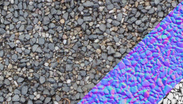River Stones Texture