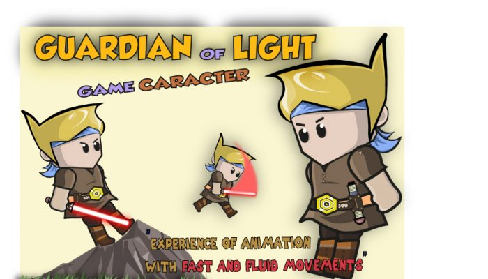 Guardian Of Light – Game Character