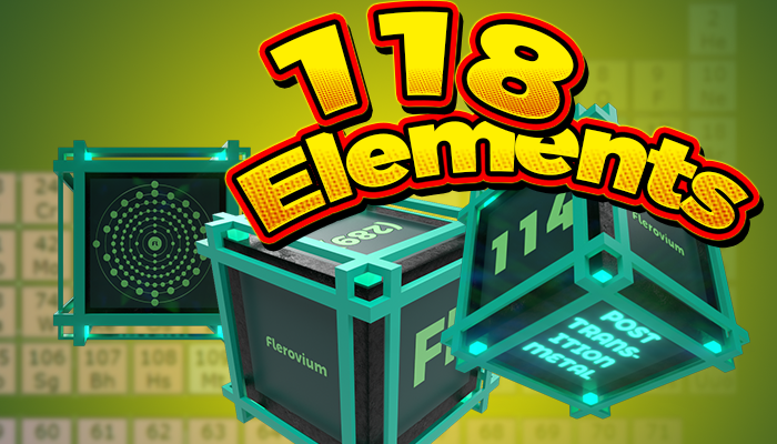 118 Elements – Learning Cubes