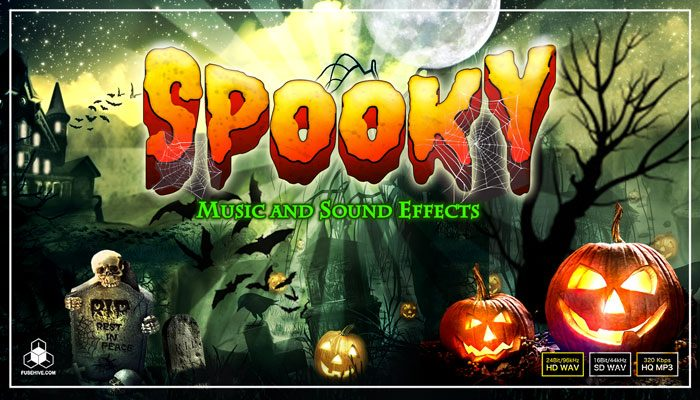 SPOOKY HALLOWEEN AUDIO BUNDLE – Scary Music and Horror Sound Effects Library [Fusehive.com]