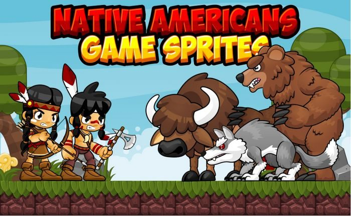 Native American – Game Sprites