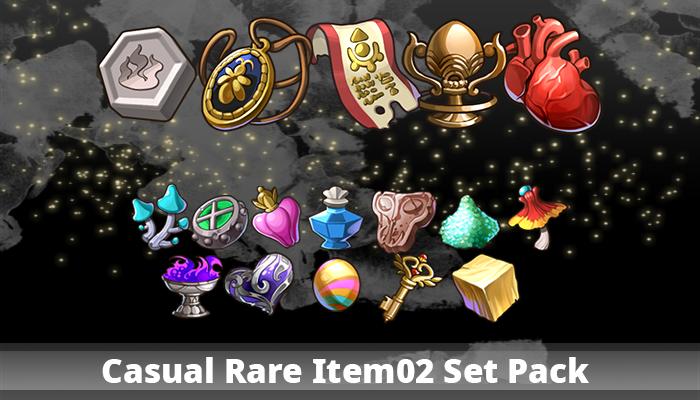 Casual Rare Item02 Set Pack