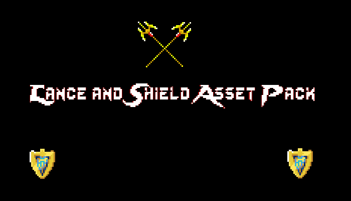 Lance and Shield asset pack