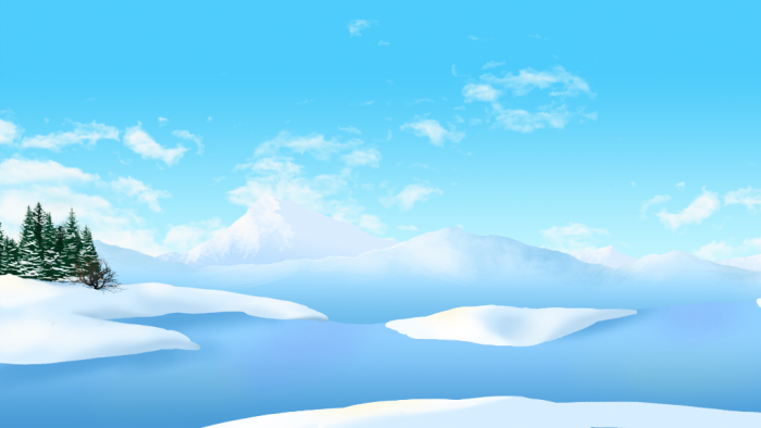 2D Arctic background