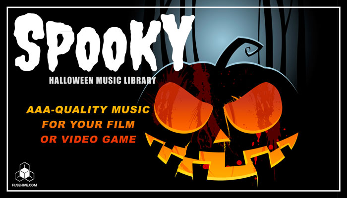 Spooky Halloween Music Library – Scary Cinematic Horror Loops and Stings Sound Pack [Fusehive.com]