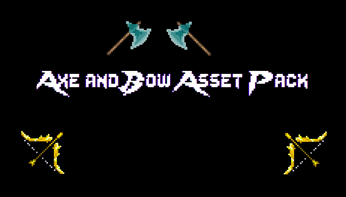 Axe and bow asset pack