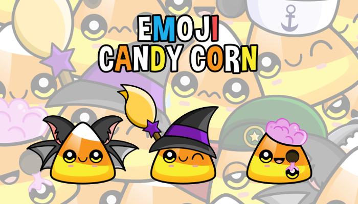 Emoji Emotion Faces Candy Corn