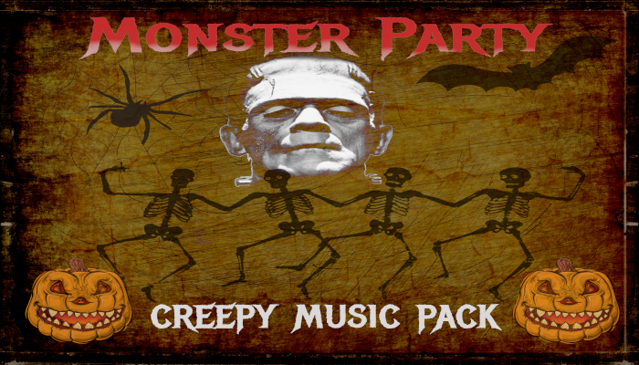 Monster Party Creepy Music Pack