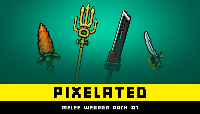 PIXELATED – Melee Weapon Pack