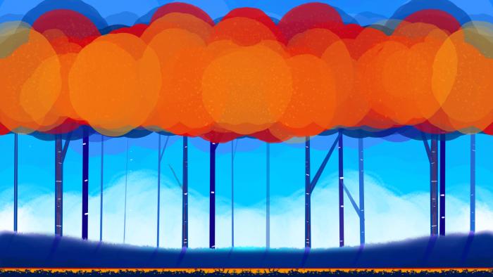 Multi Layered Autumn Background