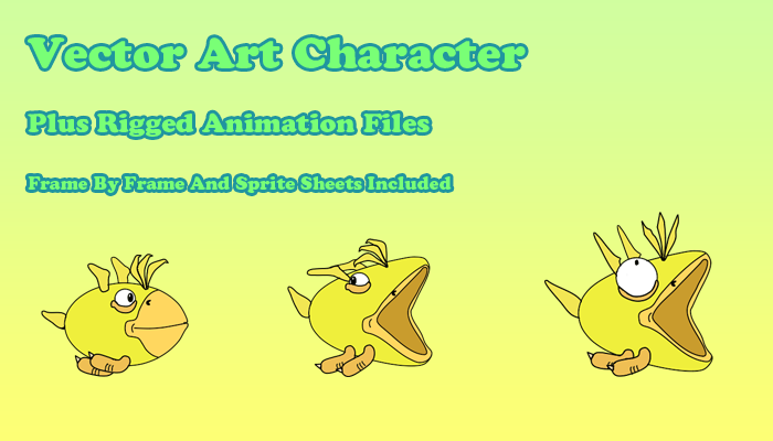 Vector Character Duck