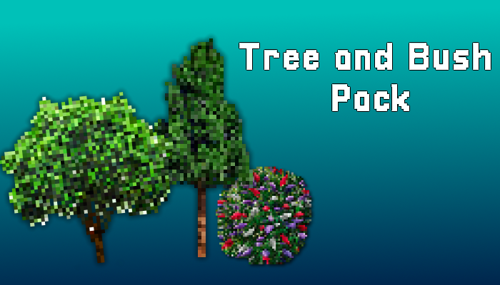 Tree and Bush Pack