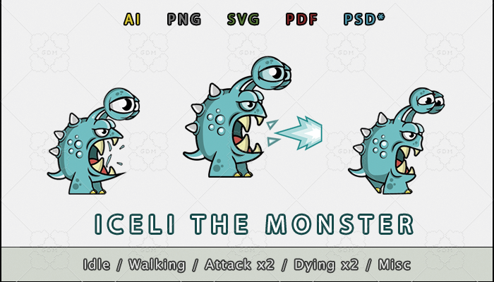 Iceli the Monster