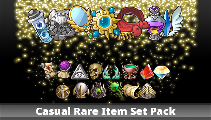 Casual Rare Item Set Pack