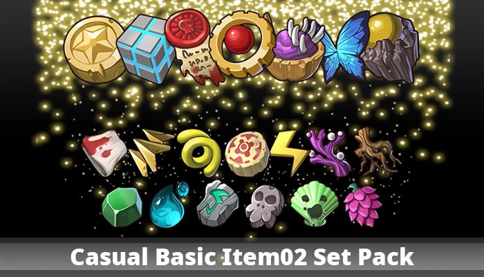 Casual Basic Item02 Set Pack