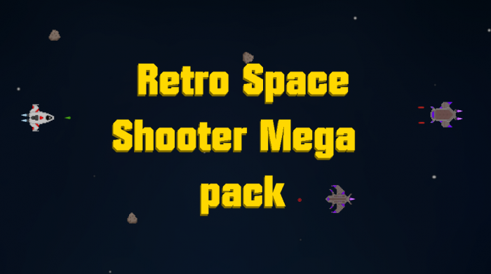 Retro Space Shooter Mega Pack