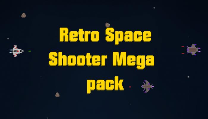 Retro Space Shooter Mega Pack