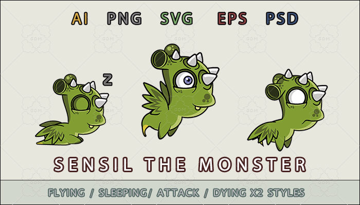 Sensil the monster