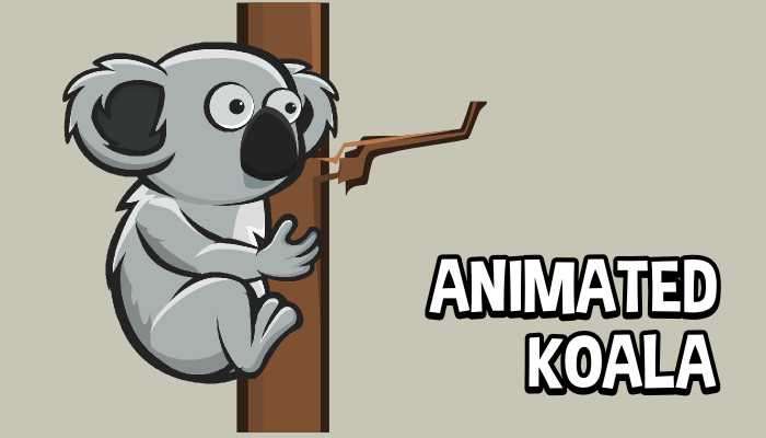 Animated koala