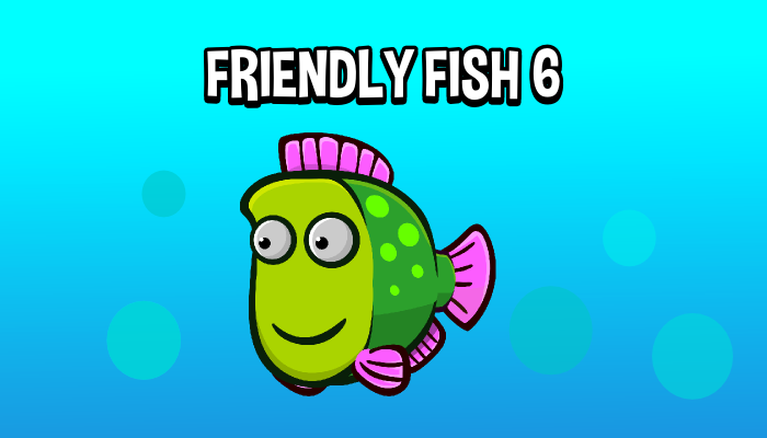 Animated friendly fish 6